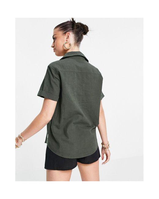 Пляжная Классическая Рубашка Цвета Хаки (от Комплекта) -зеленый Цвет Rhythm, цвет: Green