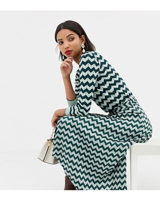 detailing cheap for sale hoard as a rare commodity Women's Green Chevron Pleated Midi Skirt In Turquoise