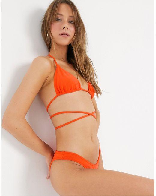 Плавки-бикини -оранжевый Bec & Bridge, цвет: Orange
