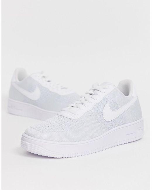 Nike Air Force 1 Flyknit 2.0 Nike air force 1 fly knit 2.0 AV3042 100 men sneakers running shoes