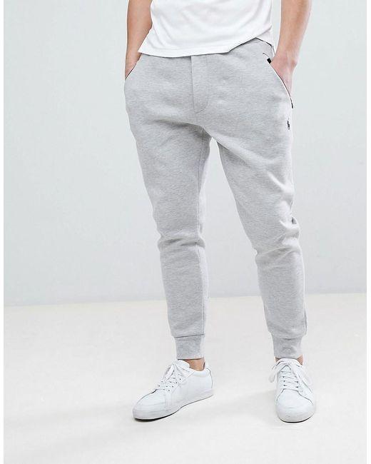 c8ba94a846d1c Polo Ralph Lauren - Gray Pantalon de jogging slim technique avec joueur de  polo - Gris ...