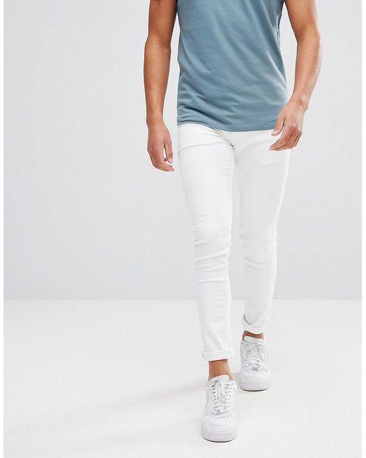 ASOS DESIGN - Asos Super Skinny Jeans In White for Men - Lyst