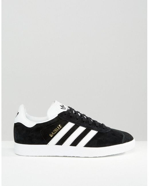 adidas Originals Gazelle sneakers in black suede