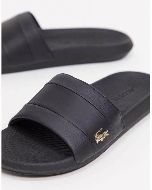 Lacoste Slippers in het Black voor heren