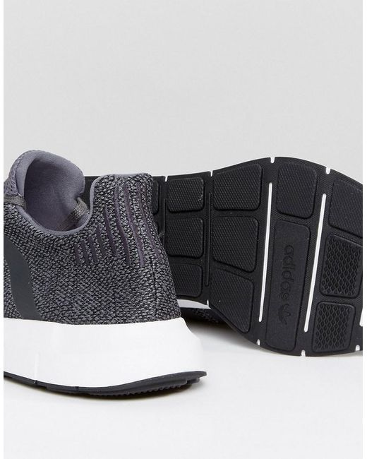 Lyst adidas Originals Swift Run zapatillas en color gris cg4116 en gris