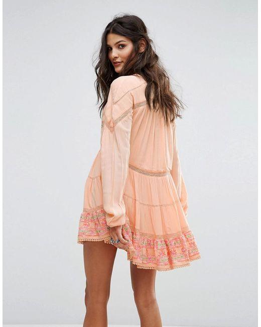 RahiCali Gardenia Catalina Dress - Peach Rahi Cali Websites BHaUxB