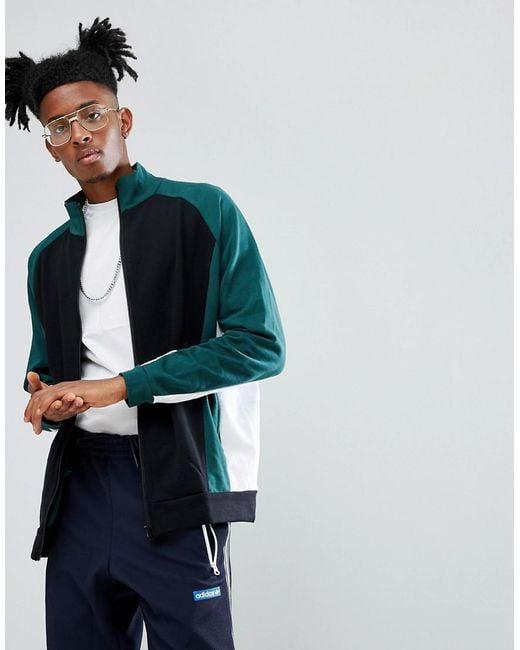 ASOS - Black Asos Oversized Cut & Sew Track Jacket for Men - Lyst