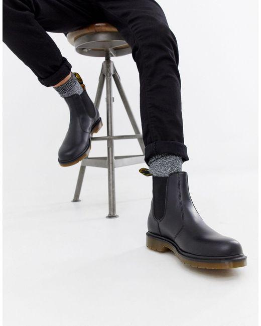 Черные Ботинки Челси 2976-черный Dr. Martens для него, цвет: Black