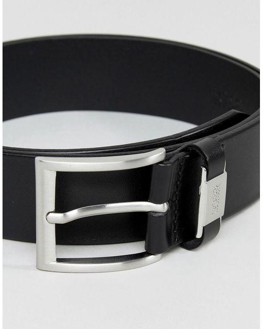 Marc O /'Polo BELT w90 cintura accessorio Black Nero Nuovo