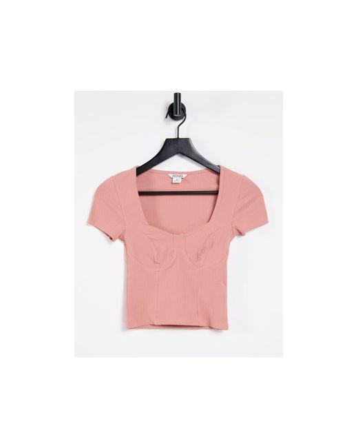 Minnie - Top di Monki in Pink