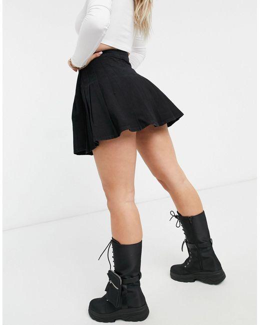 Черная Юбка ASOS, цвет: Black