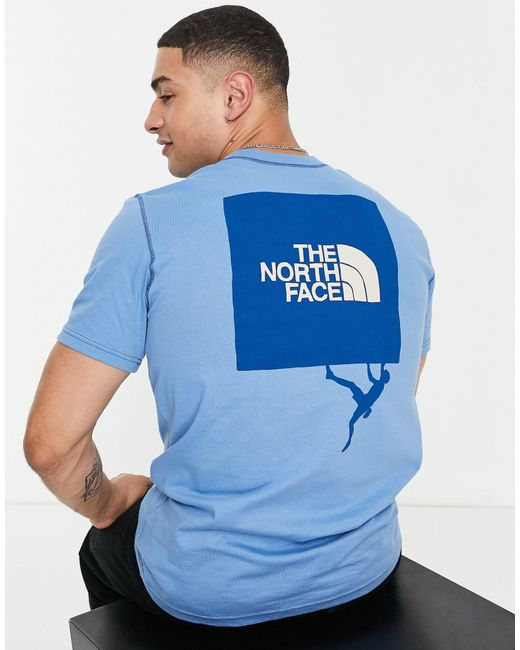 The North Face Blue Dome Climb Back Print T-shirt for men