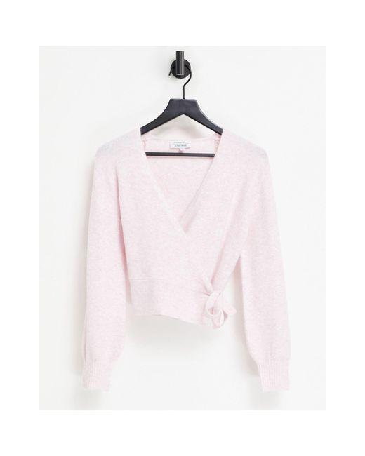Розовый Кардиган С Запахом -розовый Цвет & Other Stories, цвет: Pink