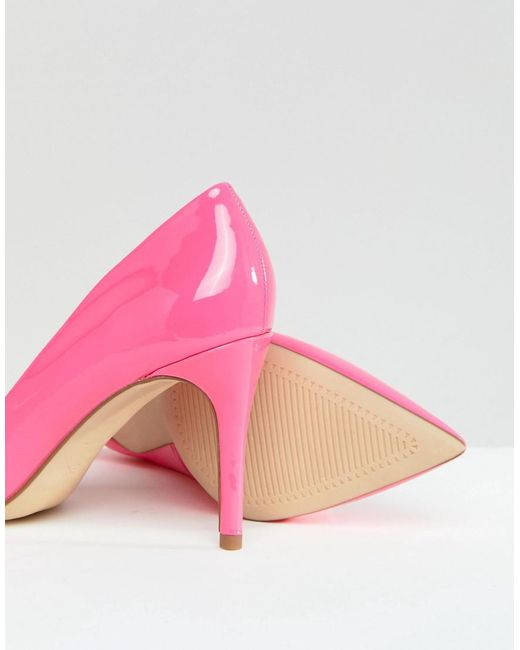 New Look Patent Pointed High Court Shoe looking for online szwLZ55mVY