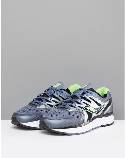 Saucony Running Redeemer ISO Trainers In Grey S20381-3 clearance classic Zu0JkLn