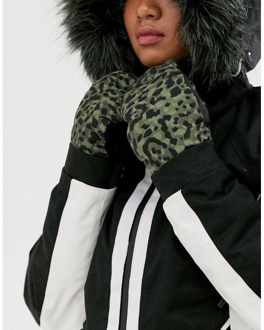 Серые Перчатки Snow Handplant Mitt-серый Volcom, цвет: Gray