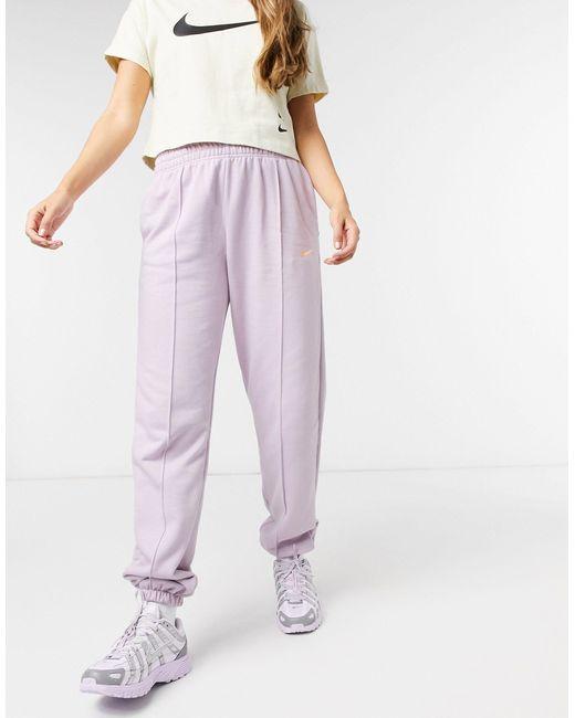 Худи Фиолетового Цвета С Логотипом-галочкой -фиолетовый Nike, цвет: Purple