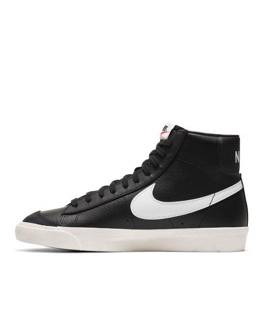 Черные Кроссовки Blazer Mid '77 Vintage-черный Nike для него, цвет: Black