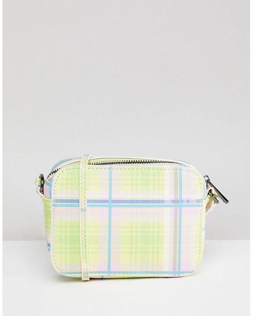 ASOS - Multicolor Summer Check Camera Bag - Lyst