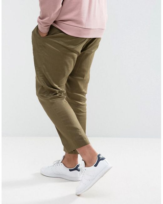 Sale Enjoy Supply Sale Online PLUS Skinny Smart Trousers in Green - Green Asos gi6H53