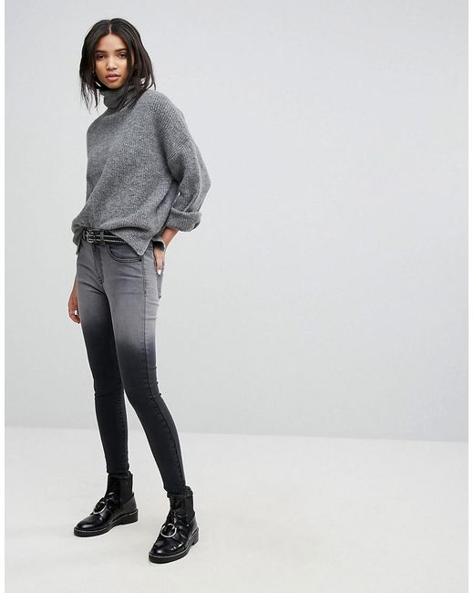 Dr Denim Mid Rise Jean with Back Leg Zips Free Shipping For Cheap Free Shipping 2018 Newest Cheap Real Authentic 09e6gc