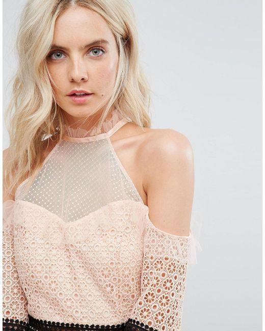 Vestitino di True Decadence in Pink