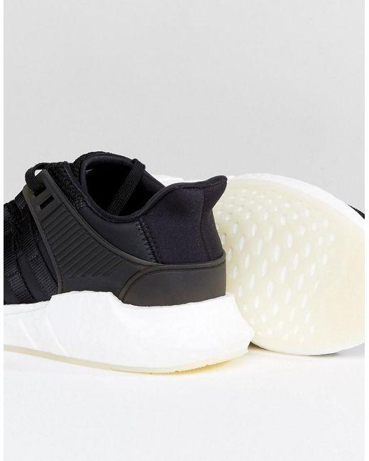 online di vendita adidas originali eqt appoggio avanzata scarpe in nero