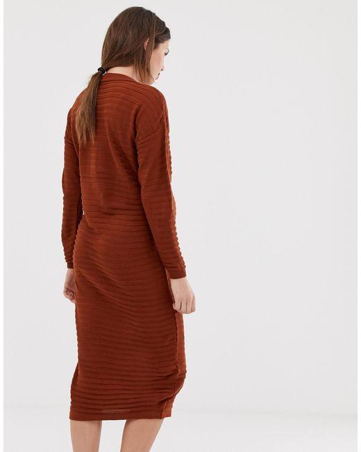ASOS DESIGN - Robe ASOS en coloris Red