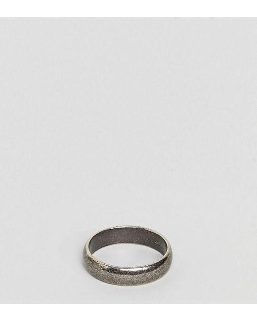 Simon Carter - Metallic Band Ring In Sterling Silver for Men - Lyst