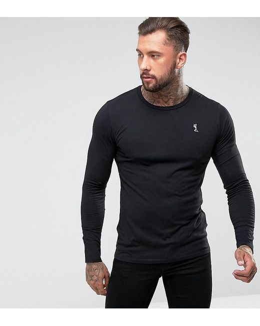Religion - Black Jersey Long Sleeve Top for Men - Lyst