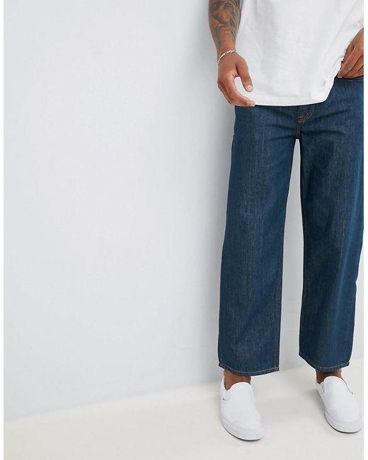 best sneakers 8dd14 98c61 Men's Blue Dagh 90s Straight Fit Jeans In 084ur