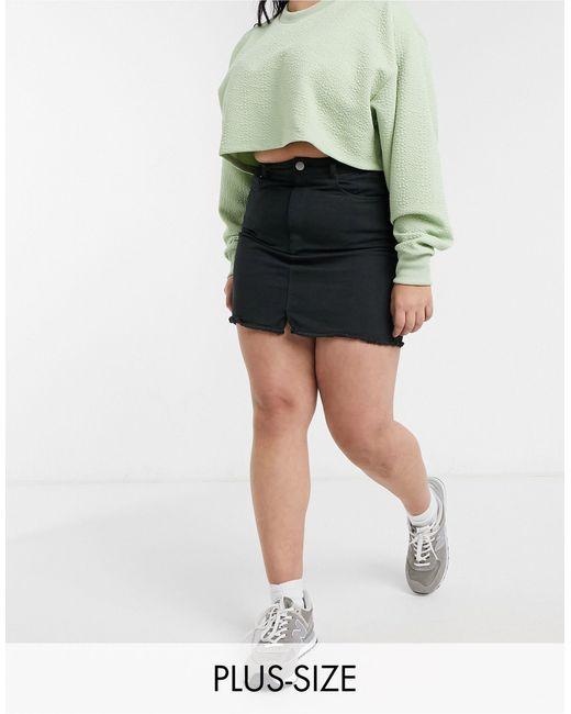 Brave Soul Black Brett Skirt