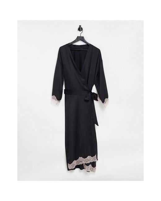 Selena - Vestaglia stile kimono di Ann Summers in Black