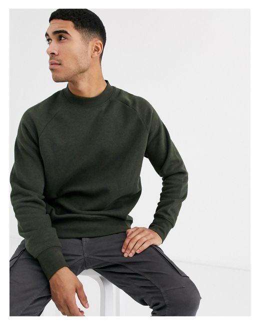 Свитшот Цвета Хаки -зеленый Topman для него, цвет: Green