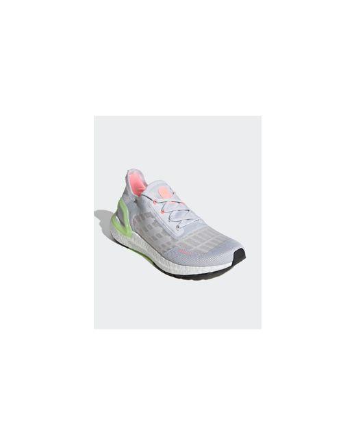 Adidas Originals White Adidas Running Ultraboost