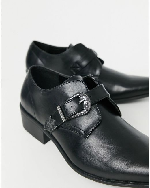 Черные Монки В Стиле Вестерн -черный Цвет Truffle Collection для него, цвет: Black