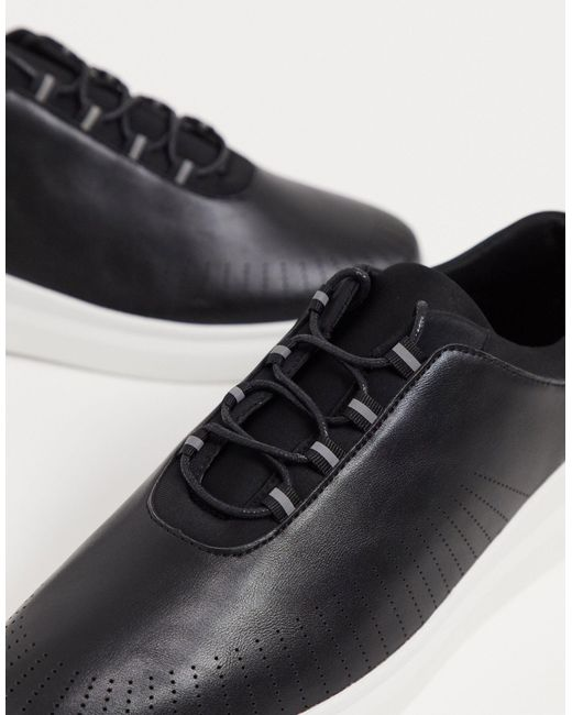 Loyalty & Faith Black Arcade Sneakers for men