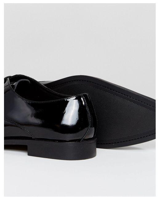 Лакированные Кожаные Дерби -черный Frank Wright для него, цвет: Black