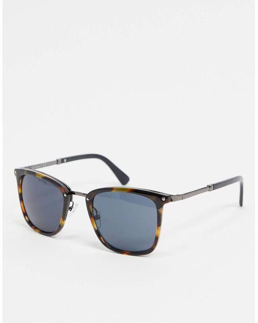 Солнцезащитные Очки В Черепаховой Оправе -коричневый Цвет A.J. Morgan, цвет: Blue