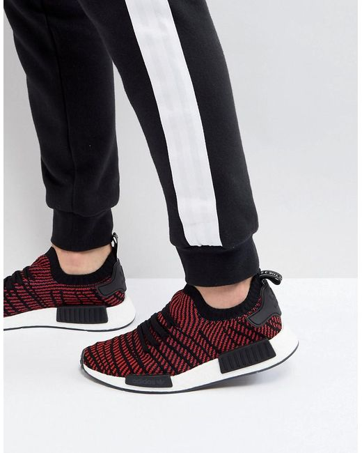 Adidas Originals - Nmd R1 Stlt Primeknit Trainers In Black Cq2385 for Men -  Lyst ... a0fd0ad36