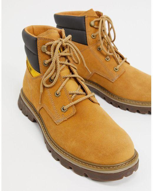 Светло-коричневые Походные Ботинки Caterpillar-светло-коричневый Caterpillar для него, цвет: Multicolor