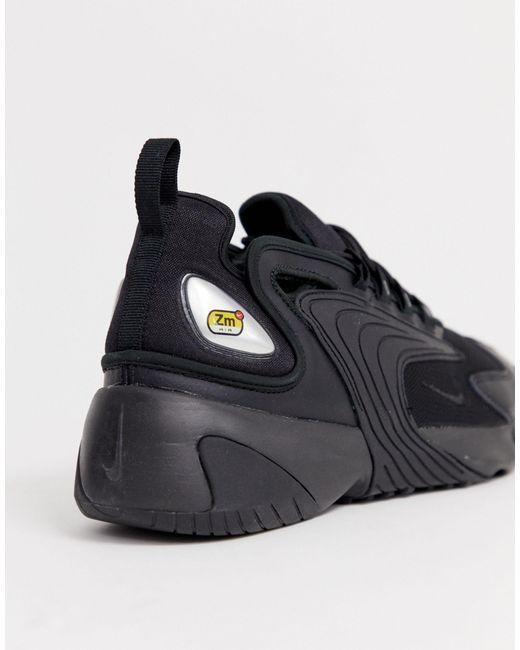 Черные Кроссовки Zoom 2k Nike для него, цвет: Black