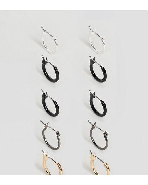 ASOS   Multicolor Hoop Earring Pack   Lyst