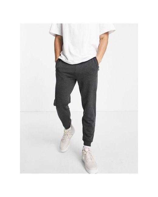 Темно-серые Флисовые Джоггеры -серый Pull&Bear для него, цвет: Gray