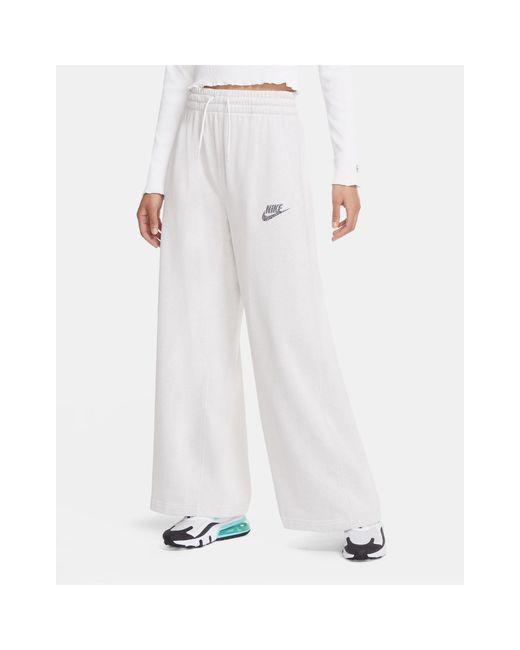 Широкие Светло-серые Джоггеры Move To Zero-белый Nike, цвет: White