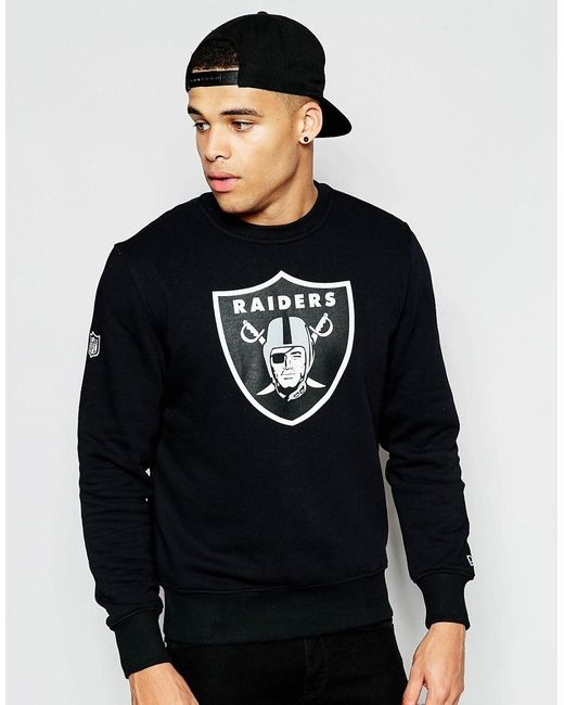 KTZ | Black Oakland Raiders Sweatshirt for Men | Lyst