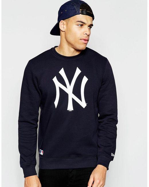 KTZ | Blue New York Yankees Sweatshirt for Men | Lyst