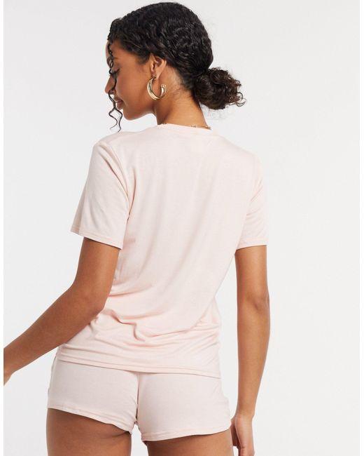 Pijama corto AM to DM Adolescent Clothing de color Orange