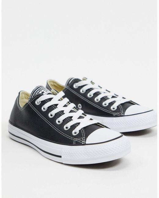 Converse Zapatillas de mujer de color negro
