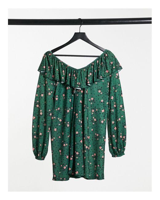 Vestido ASOS de color Green